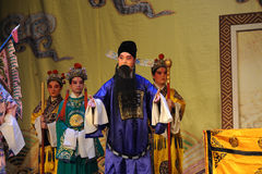 Laosheng-Beijing Opera: Chu Han contention Stock Photography