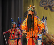 Laosheng-Beijing Opera: Chu Han contention Royalty Free Stock Photo