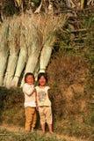 Laotan sisters Royalty Free Stock Photography