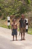 Laotian boys free-time Royalty Free Stock Photo