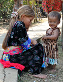 Laotian Children Royalty Free Stock Photography