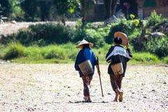 Laotian dziewczyny Fotografia Stock