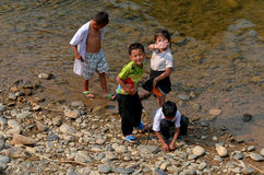 Laotian hmong Stock Photo