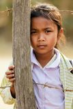 Laotian little girl Royalty Free Stock Photos
