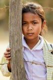 Laotian little girl Royalty Free Stock Photos
