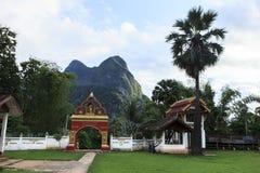 Laotian pagoda Stock Photo