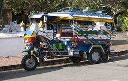 Laotian rickshaw Stock Image