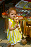 Laotianische hmong Kinder Lizenzfreies Stockfoto