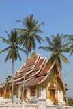 Laotisk tempel Arkivbilder