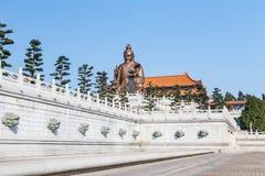 Laozi statue in yuanxuan taoist temple guangzhou Stock Photos