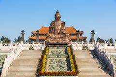 Laozi staty Arkivbilder