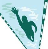 Lap Swimmer Stock Photos