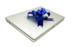 lap-top δώρων Στοκ Φωτογραφία