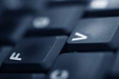 lap-top πληκτρολογίων λεπτομέ&r Στοκ φωτογραφία με δικαίωμα ελεύθερης χρήσης