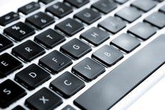 lap-top πληκτρολογίων υπολο&ga Στοκ Εικόνες
