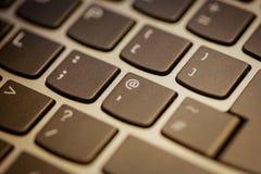 lap-top πληκτρολογίων Στοκ εικόνα με δικαίωμα ελεύθερης χρήσης