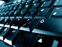 lap-top πληκτρολογίων Στοκ Εικόνες