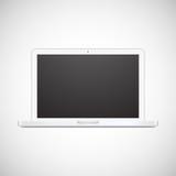 Lap-top που απομονώνεται στο άσπρο υπόβαθρο Στοκ εικόνες με δικαίωμα ελεύθερης χρήσης