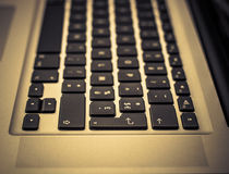 lap-top πληκτρολογίων Στοκ εικόνες με δικαίωμα ελεύθερης χρήσης