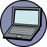 lap-top υπολογιστών Στοκ Φωτογραφίες