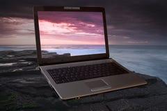 lap-top υπολογιστών Στοκ εικόνα με δικαίωμα ελεύθερης χρήσης