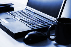Lap top computer Royalty Free Stock Photography