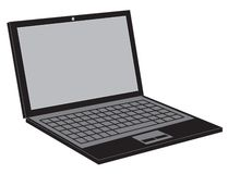 Lap top icon Stock Photos
