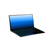 Lap top icon. Royalty Free Stock Photos
