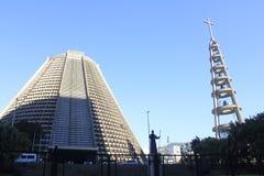 Lapa大教堂在里约热内卢,巴西 库存照片