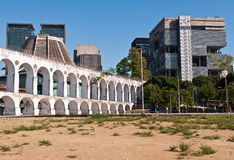 Lapa Arch, Rio de Janeiro, Brazil. Lapa Arch, Downtown Rio de Janeiro, Brazil Stock Photo