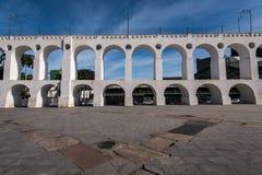 Lapa Arch in Rio de Janeiro. Carioca Aqueduct, Also Known as Lapa Arch, in Rio de Janeiro City, Brazil Stock Photos