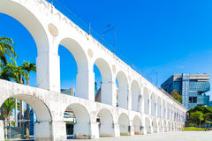 Lapa Archs in Rio de Janeiro, Brazil Royalty Free Stock Images