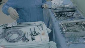 Laparoscopic хирургия брюшка сток-видео