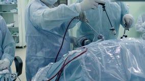 Laparoscopic хирургия брюшка стоковое изображение rf