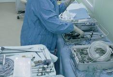 Laparoscopic хирургия брюшка стоковые изображения rf