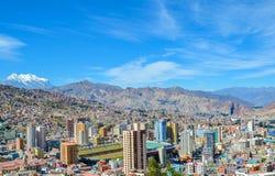 LaPaz huvudstad, Bolivia, Sydamerika Arkivfoto