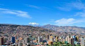 LaPaz huvudstad, Bolivia, Sydamerika Arkivbilder