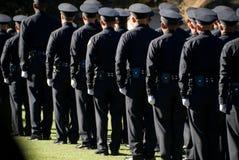 LAPD si laurea l'allineamento #3 Immagine Stock Libera da Diritti