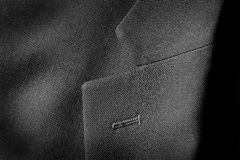 Lapel of Nice Suit for Man Fashion Clothing Royalty Free Stock Photo