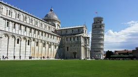 Lapiazzadei Miracoli, Pisa Royaltyfria Bilder