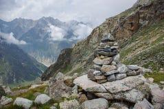 lapida l'architettura nella Federazione Russa delle montagne, Caucaso, Fotografia Stock Libera da Diritti