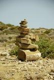 Lapida la piramide Fotografia Stock