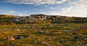 Lapida le rocce Fotografia Stock