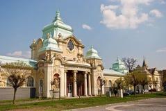 Lapidarium av det nationella museet i PRAGUE, TJECKIEN royaltyfria foton