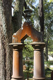 Lapide colonnata Fotografia Stock