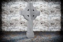 Lapide commemorativa in bianco Fotografie Stock Libere da Diritti