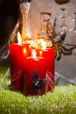 Lapide di Halloween Immagine Stock