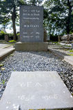 Lapide di Yeats s Fotografia Stock