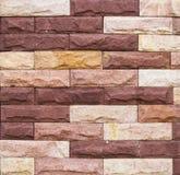 Lapidez le fond de mur de briques Photographie stock libre de droits