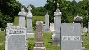 Lapidi del cimitero Immagini Stock Libere da Diritti